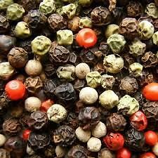 Mixed Peppercorns with optional Grinder - Grade A Premium Quality