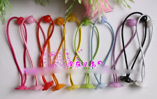 12pcs Quality Baby/Girl Hair Ties Pony Tails Elastics with Bead Great for DIY