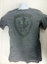 Ferrari Scuderia Shield Kids T-Shirt-Gray