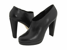 $348 Cole Haan Nike Air Black Leather Bootie Ankle Fashion Boots