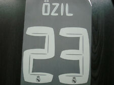 NEW Real Madrid Away 2010-11 REMAKE Name Numbering