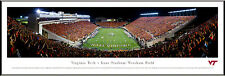 Virginia Tech Hokies Panoramic Lane Stadium Photo Picture NEW