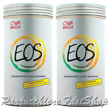 EOS Colorazione Riflessante Trattante WELLA ®  A BASE VEGETALE NATURALE 2 x 120g