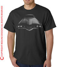 1970s FORD THUNDERBIRD MUSCLE CAR T-SHIRT DTG ALL SIZE & COLOURS AVAILABLE R16