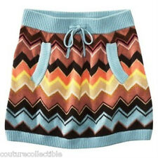 NEW! Missoni for Target GIRLS Womens Colore Sweater Skirt w pockets HOT!