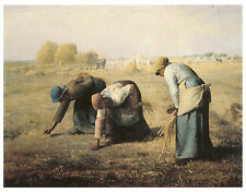 The Gleaners, c.1857 - Jean-Francois Millet - Art on Canvas