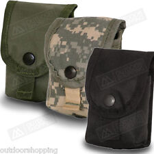 Tactical MOLLE Modular Grenade SNAP CLOSURE POUCH, New