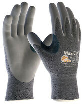 MaxiCut Dry Level 3 34-450 Cut Resistant - Nitrile Foam Palm Coated Work gloves