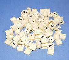 MINI TRAVEL SCRABBLE SQUARE LETTER TILES SPARE REPLACEMENT - ARTS CRAFTS SCRAP