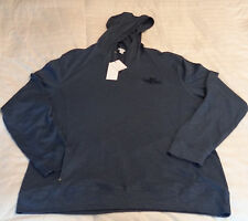 NWT CALVIN KLEIN MENS HOODED SWEATER STYLE 406K225 DRESSY REFINED POCKETS