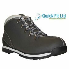 MENS BLACK ANKLE HI HIGH TOPS TRAINERS BOOTS CASUAL WORK HIKING TREKKING SHOES