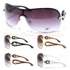 Womens Shield Sunglasses New Rimless Stylish Fashion DG Eyewear