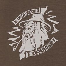 "THE HOBBIT/ Lord of the Rings - New GANDALF ""Keep on Tolkien"" Shirt, all sizes"