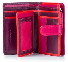Visconti RB51 Multi-Color Ladies Leather Bi-fold Wallet Purse Clutch Gift Boxed