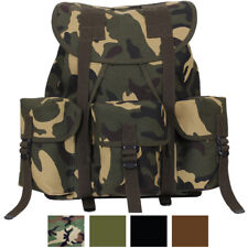 Heavy Duty Canvas Mini Alice Pack Military Rucksack Backpack