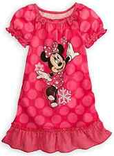 *NWT* Disney Store Minnie Mouse Nightgown/Pajamas~Size 2/3, 4, or 5/6