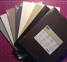 "Stampin Up! NEW 8 1/2"" x 11"" Cardstock Paper Neutrals Regals Choose 1"