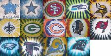 Tie Dye NFL shirt NFC - COWBOYS EAGLES PACKERS REDSKINS SAINTS 49ERS RAMS