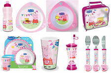 Peppa Pig Spearmark Tableware Plates, Cups and Cutlery - Lunch and Party Items