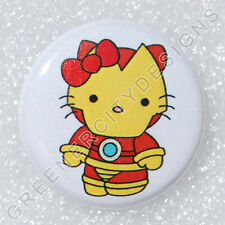 H37 - Iron Man - Hello Kitty - Marvel Comics, Superhero, Suit of Armor