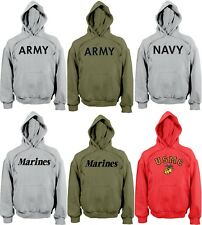 Military Pullover Physical Training Hooded Sweatshirt