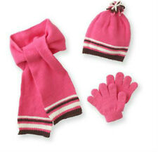 * NWT NEW GIRLS Mambo  Boucle 3-pc. hat ~ scarf ~gloves 4/7