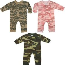 Camouflage Long Sleeve Baby One Piece Infant Bodysuit