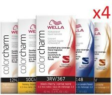 2 Lot WELLA Color Charm Permanent Liquid Hair Color Choose Color 2.8 oz tot