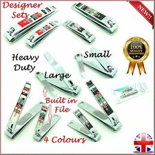 Large Nail Cutters Set Heavy Duty Designer Toe Nail Clippers Trimmers Nippers UK