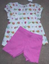 NWT GYMBOREE TEA TIME AFTERNOON SHORTS GROWING FLOWERS SWING TOP NWT