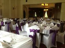 Wedding Chair Cover & Satin Sash hire in Warwickshire, Coventry, Leicestershire