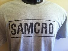 **  SAMCRO SONS OF ANARCHY  **  T SHIRT *  biker TV series !! FREE SHIPPING !!