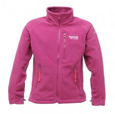 Regatta Kids Marlin II Full Zip Fleece Jacket (3-12 Years) Girls VIVID VIOLA