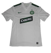 Celtic FC Glasgow Jersey Shirt Away White 2009/10 Nike Player Issue M L XL