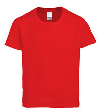 Plain 100% Cotton High Quality T-Shirt - Choice of Colours - All Sizes S to 5XL