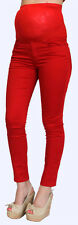 Red maternity jeans (Free Shipping) XS,S,M,L