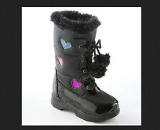 * NWOB NEW GIRLS Totes Candy HEARTS Winter SNOWBOOTS BOOTS 5 Toddler