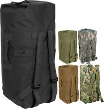 """Double Strap Carry Duffle Bag Nylon Heavyweight Backpack -  24"""" x 36"""""""