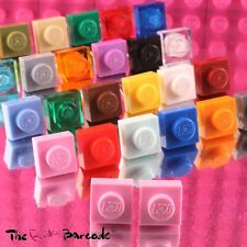 FUNKY LEGO STUD EARRINGS SQUARE BRICK PLATE QUIRKY RETRO GIRLS NOVELTY COOL GIFT