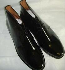 BLACK PATENT LEATHER GEORGE BOOTS FOR MESS DRESS FUNCTIONS