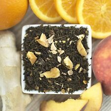 Ginger Orange Peach Organic Green Tea Choose loose leaf, tea bags or sample size