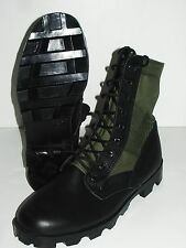 OD Green Olive Drab Military Army Vietnam Jungle Boots Panama Sole Combat Boot