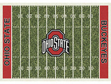 Ohio State Buckeyes Milliken Collegiate Home Field Area Rug  Man Cave Bedroom