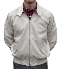 HARRINGTON JACKET BEIGE BY COMBAT SKINHEAD MODS SCOOTER 60'S RETRO SOUL SKA