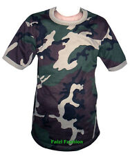 Kids / Children Camo Camouflage T Shirt Hunting / Fishing / Army / Military