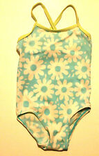NWT Old Navy Girls 1-Piece Floral Print Bathing Suit 6-12 12-18 18-24 Mo 2T 5T