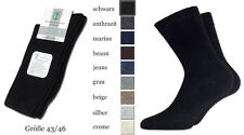 6 pairs seamless mens mid-weight dress socks skin friendly cotton 4 more comfort