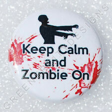 I12 - Keep Calm and Zombie On - Zombie Humor, Spoof, Horror