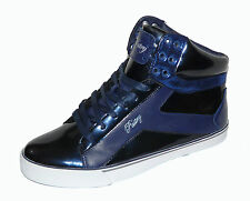 Pastry NYC Sweet Crime Shoes Trainers Sneakers Hi High Tops Navy
