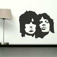 Rolling Stones Celeb Wall Transfer / Art Wall Vinyl Celebrity Wall Sticker nic32